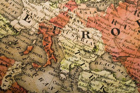 Europe old map