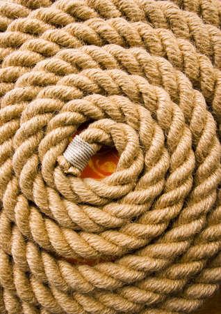 bonding rope: Rope  Stock Photo