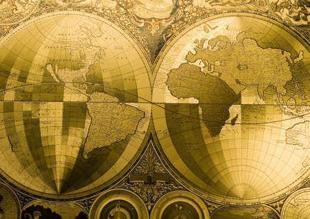 Old map of the world Stock Photo - 3220912
