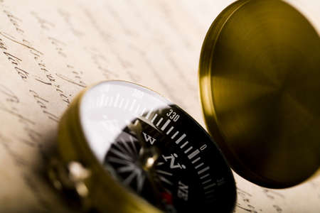 Compas & Text Stock Photo - 3219007