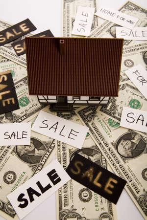 Real estate & Money Stock Photo - 3273174