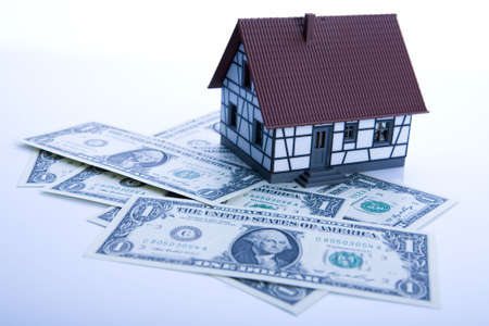 Dollars and House Stock Photo - 3273088