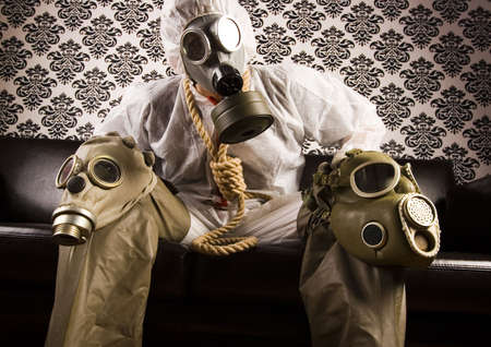Dr. Gore & Gas mask Stock Photo - 3493731