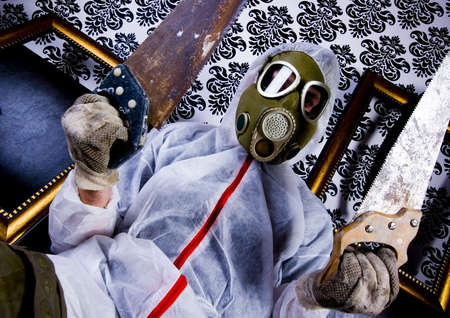 sangre derramada: Dr Gore - el s�mbolo de peligro, la industria y las contaminaciones