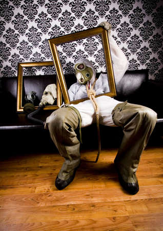 biochemical: Man in the mask