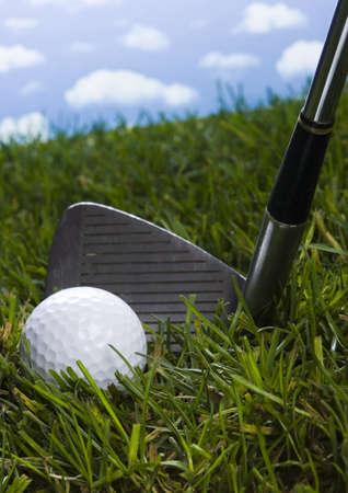 Golf drive  photo