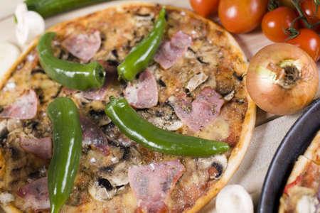 Hot pizza Stock Photo - 4608731