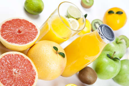 foodie: Citrus fruits Stock Photo