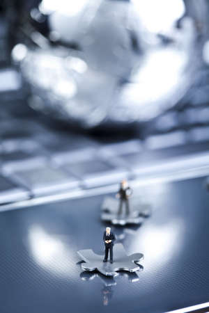 Business figurines photo