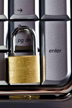 Locked keyboard Stock Photo - 5094149