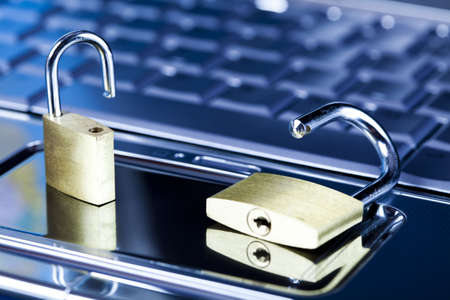 Computer Security conception Stock Photo - 5096627