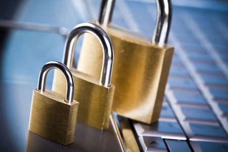 Locked keyboard Stock Photo - 5093572