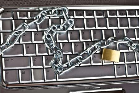 Locked keyboard Stock Photo - 5096891