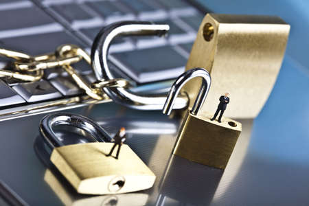 Network security conception Stock Photo - 5096788