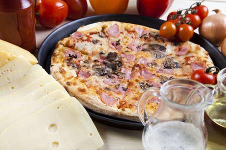Tasty pizza photo