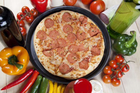 Supreme Pizza Stock Photo - 5103688