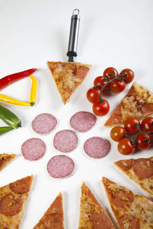 Pepperoni pizza photo