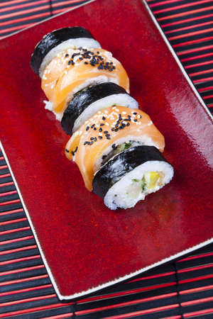 Collection of sushi  photo