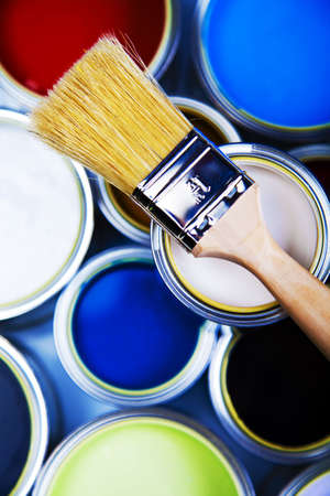 color image creativity: Home decoration Stock Photo