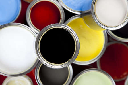Paint and cans Stock Photo - 5095126