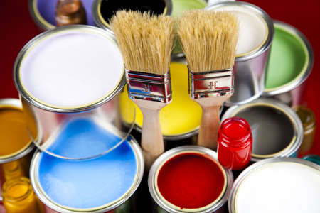 paintjob: Home decoration Stock Photo