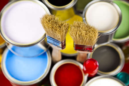 painting and decorating: Multicolored