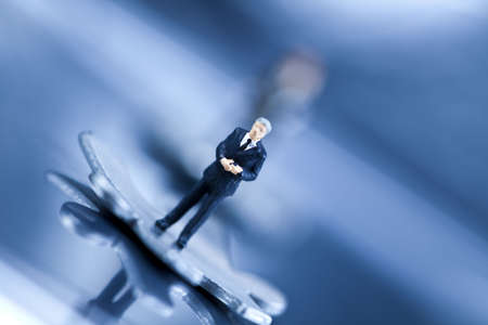 Business figurines Stock Photo - 5094729
