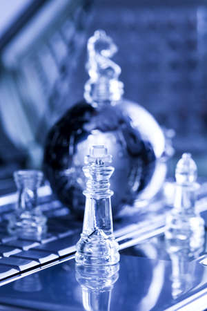 Chrome chess photo