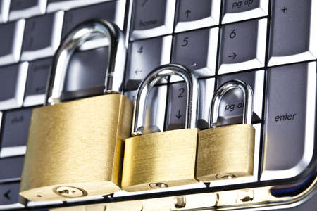 Network security computer conception Stock Photo - 5094932