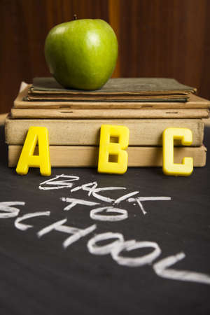 Back to school background Stock Photo - 5427975
