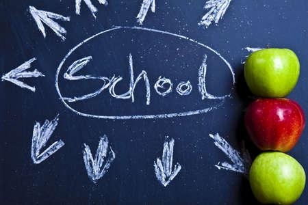 School background Stock Photo - 5427862