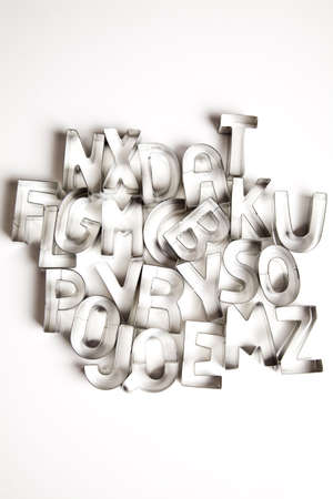 Letters, alphabet Stock Photo - 5419243