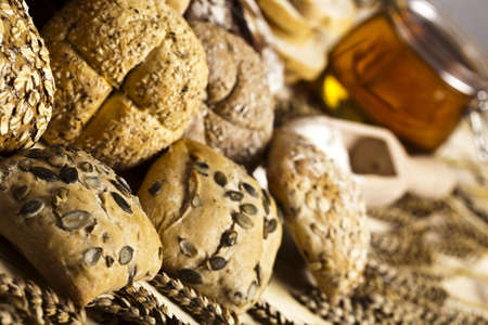 Compositions bread Stock Photo - 5419249