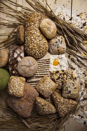 Bread background Stock Photo - 5419350
