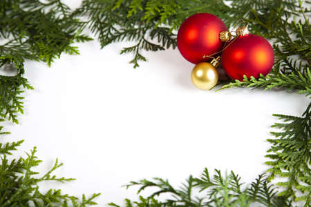 Christmas frame Stock Photo - 5418951