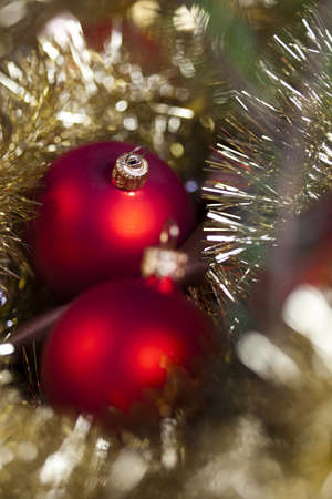 christmas day: Baubles & Christmas day