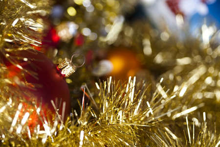 Traditional Christmas Baubles Stock Photo - 5418370