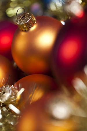 Colorful Christmas baubles Stock Photo - 5418374