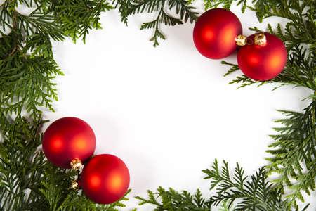Christmas frame Stock Photo - 5418855