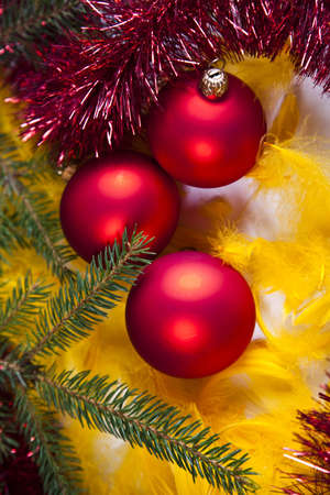 Traditional Christmas Baubles  Stock Photo - 5418209
