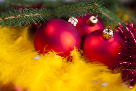 Christmas Tree Baubles Stock Photo - 5418364