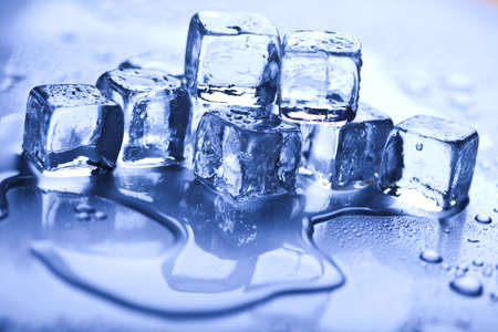 Ice, and cubes photo