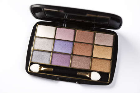 accesories: Colorful eyeshadows, accesories