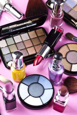 aseo personal: Colecci�n de maquillaje coloridos