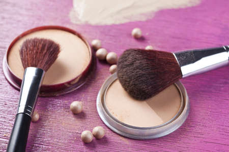 Professional make up powder photo