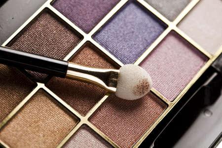 Eyehadows collection, make up Stock Photo - 5925787