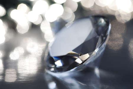 Diamond - a hard, precious, expensive stone Stock Photo - 5930627