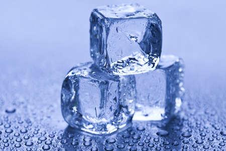 cubos de hielo: Hielo
