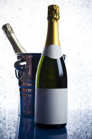 Champagne, alcohol, bottle   photo