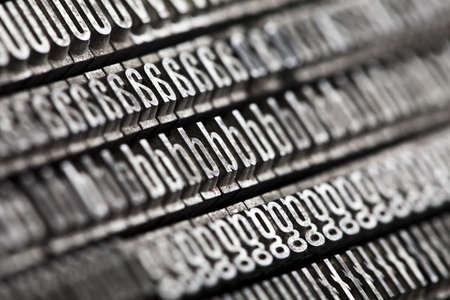 Typography Stock Photo - 6373364